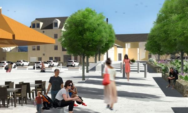 am nagement nord du centre ville exposition en mairie. Black Bedroom Furniture Sets. Home Design Ideas